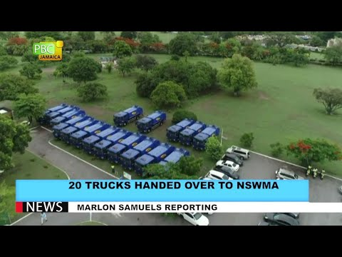 20 Trucks Handed Over To NSWMA