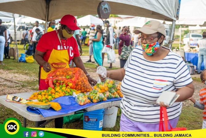 Farmers' Market And Business Fair In Bull Bay July 11