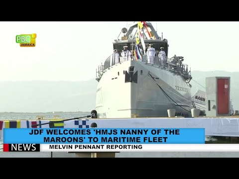 JDF Welcomes 'HMJS Nanny Of The Maroons' To Maritime Fleet
