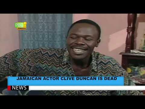 Jamaican Actor Clive Duncan Is Dead