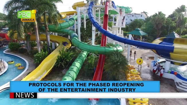 Protocols For The Phased Reopening Of The Entertainment Industry