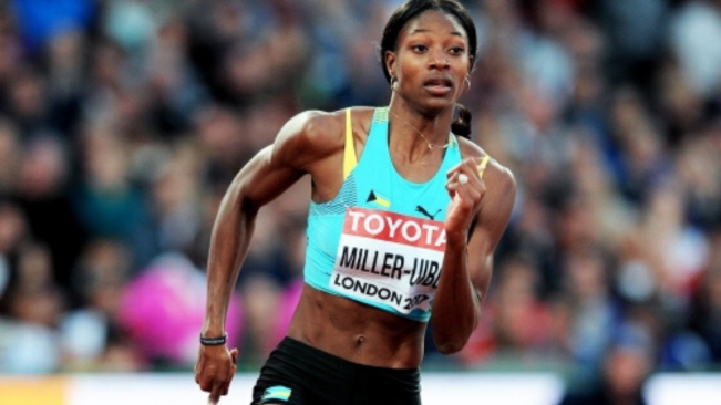 World leads from Miller-Uibo, Lyles and Richardson
