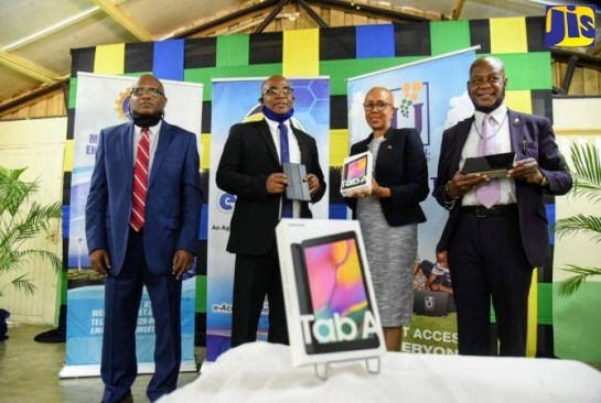 E-Learning Jamaica Commends Postal Service For Tablet Distribution