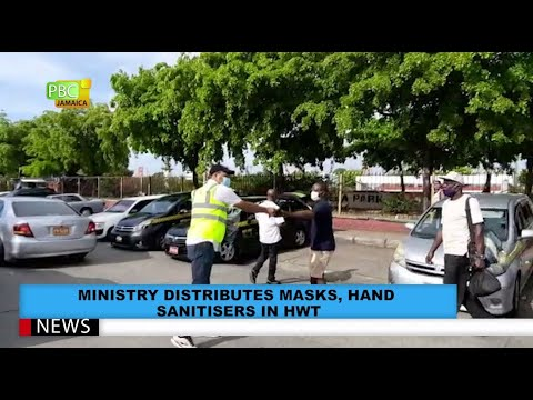 Ministry Distributes Masks, Hand Sanitisers in HWT