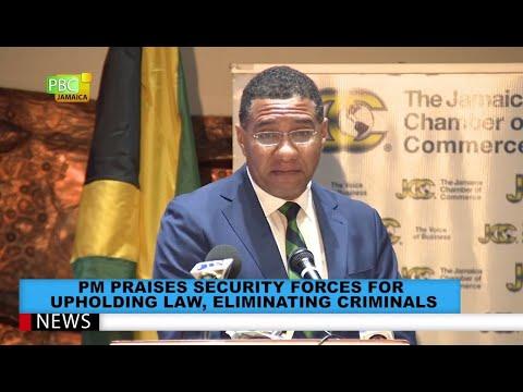 PM Praises Security Forces For Upholding Law, Eliminating Criminals
