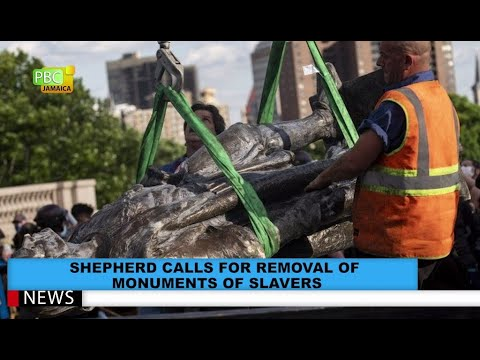 Shepherd Calls For Removal Of Monuments Of Slavers