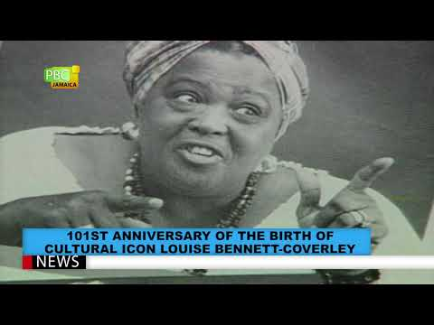 101st Anniversary Of The Birth Of Cultural Icon Louise Bennett Coverley