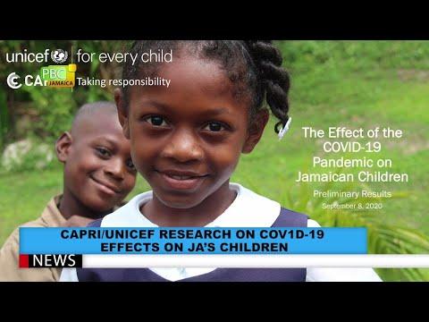 CAPRI-UNICEF Research On COVID-19 Effects On JA's Children