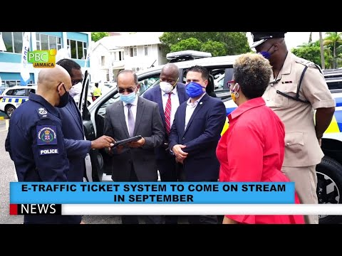 E-Traffic Ticket System To Come On Stream In September