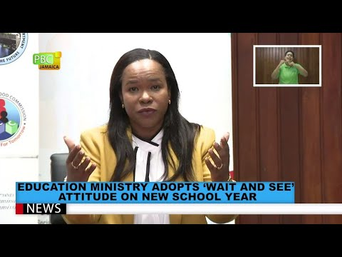 Education Ministry Adopts 'Wait And See' Attitude On New School Year