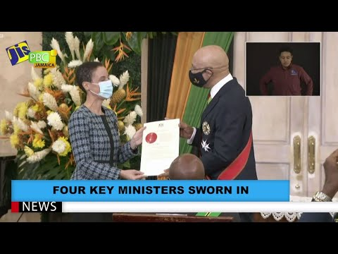 Four Key Ministers Sworn In