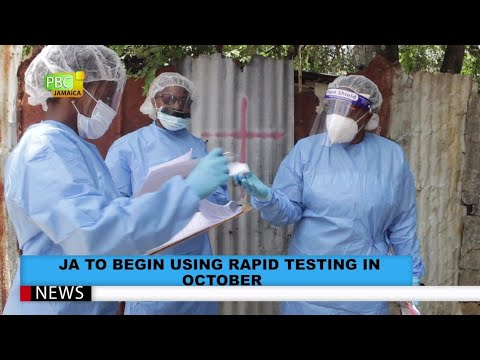 Jamaica To Begin Using Rapid Testing for COVID-19 In October