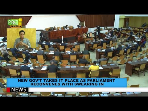 New Gov't Takes It Place As Parliament Reconvenes With Swearing In