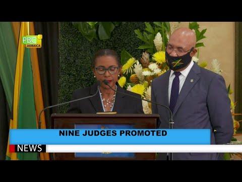 Nine Judges Appointed