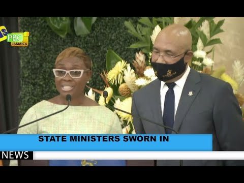 State Ministers Sworn In