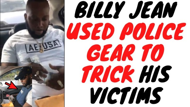 This Billy Jean Video Shows Criminals And Police Have The Same Equipment