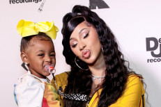 Cardi B and daughter Kulture show off mommy-and-me Hermès Birkin bags