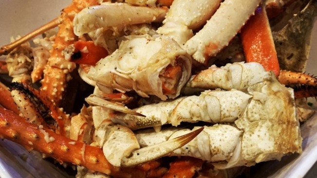 CULINARY TRAILS Lucky Crabs Seafood Home of the Lucky Bucket