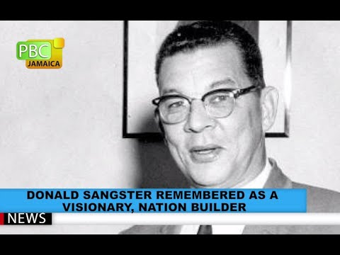 Donald Sangster Remembered As A Visionary, Nation Builder
