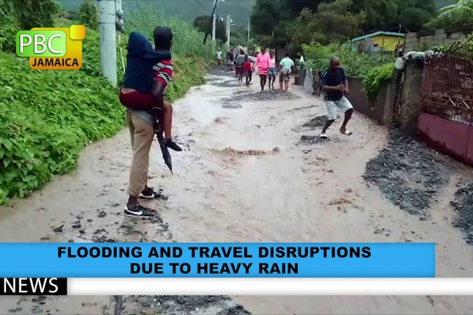 Flooding And Travel Disruptions Due To Heavy Rain