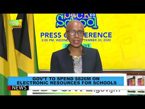 GOV'T TO SPEND $826M ON ELECTRONIC RESOURCES FOR SCHOOLS