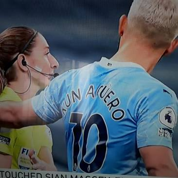 The touch that caused cussing