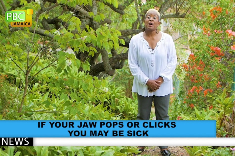 If Your Jaw Pops Or Clicks You May Be Sick