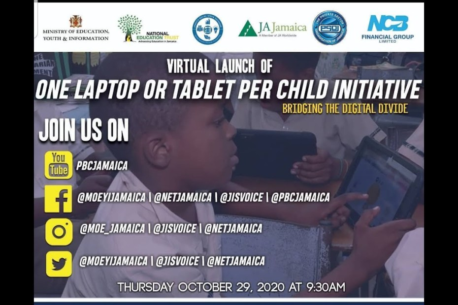 Launch of the One Laptop or Tablet per child initiative – October 29, 2020