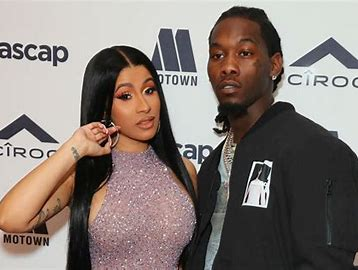 Cardi B says she's back with Offset after filing for divorce