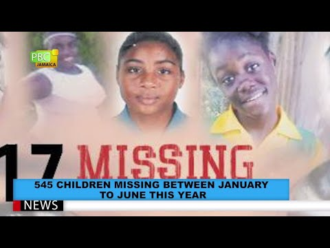545 Children Missing Between January To June This Year