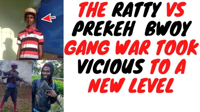 Ryan 'Ratty' Peterkin And Prekeh Bwoy Hunting Each Other Gave Local Residents Nightmares