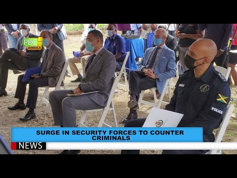 Surge In Security Forces To Counter Criminals