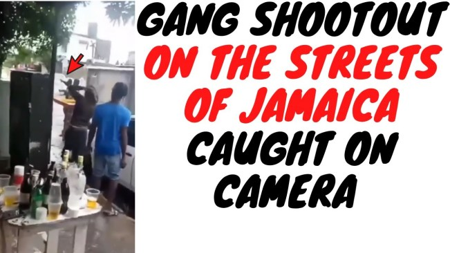 The Video Of Gangs Shooting At Each Other In Broad Daylight Makes Jamaica Look Like Wild West