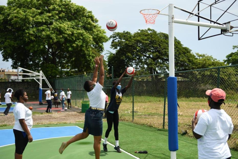 Ochi residents happy for multipurpose courts