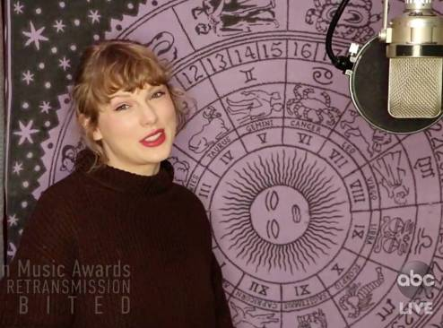 Taylor Swift wins Artiste of the Year