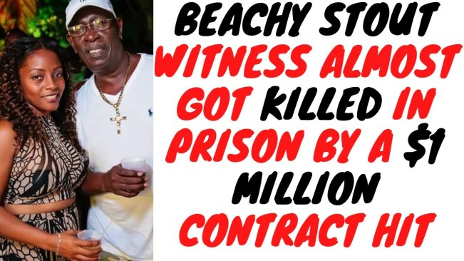 Beachy Stout Put Out $1 Million Hit To Get Rid Of His Main Witness And It Almost Worked