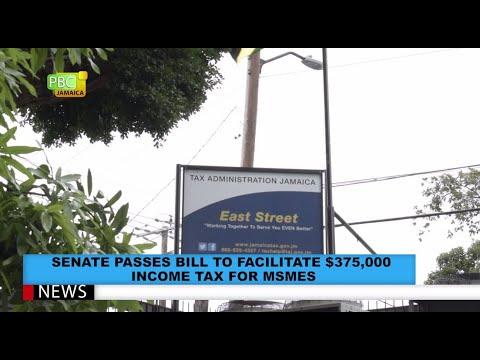 Senate Passes Bill To Facilitate $375,000 Income Tax For MSMEs