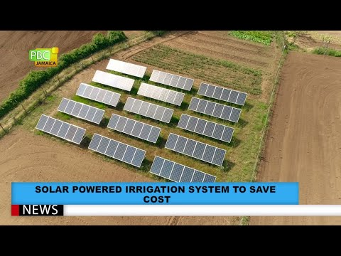 Solar Powered Irrigation System To Save Cost