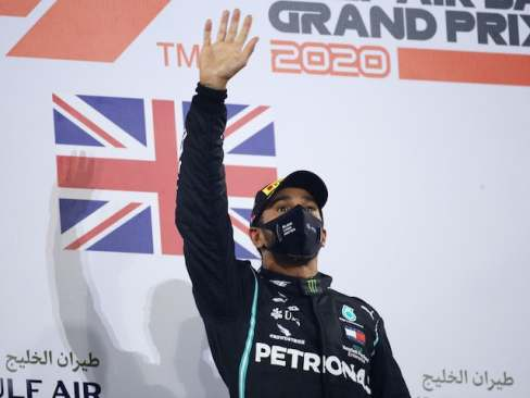 Lewis Hamilton crowned Sports Personality of the year