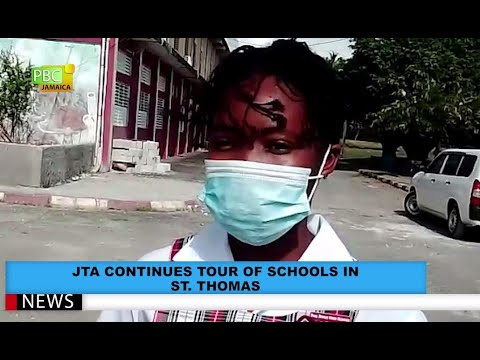JTA Continues Tour Of Schools In St. Thomas
