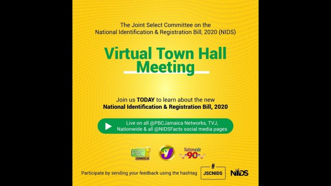 LIVE NOW:National Identification & Registration Bill (2020) Virtual Town Hall Meeting – January 14, 2021