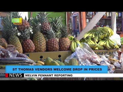 St Thomas Vendors Welcome Drop In Prices