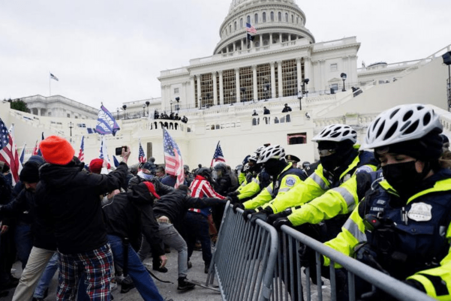 Trump Supporters Storm Capitol Forcing Lockdown