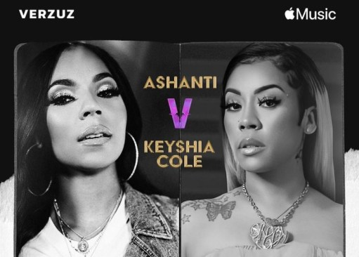 Late start to Keyshia Cole and Ashanti's Verzuz battle frustrates fans