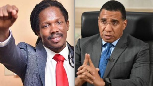 Andrew Holness Showing 'Government Badness' says Damion Crawford in Parliament