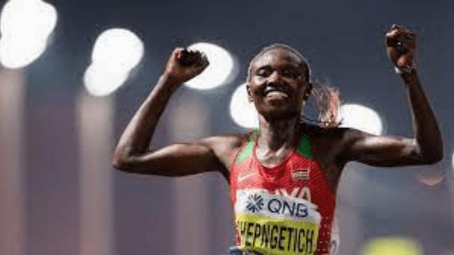 Kenya's Chepngetich smashes half-marathon record in Istanbul