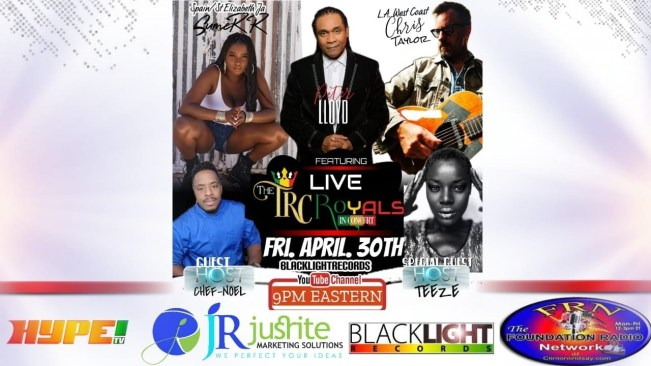 """The """"Royals in Concert"""" free music concert April 30 @ 9pm eastern"""