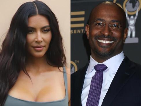 Kim Kardashian's Recent Posts Have Fans Convinced She's Dating Van Jones Again