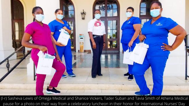 Sandals South Coast Celebrates International Nurses Day