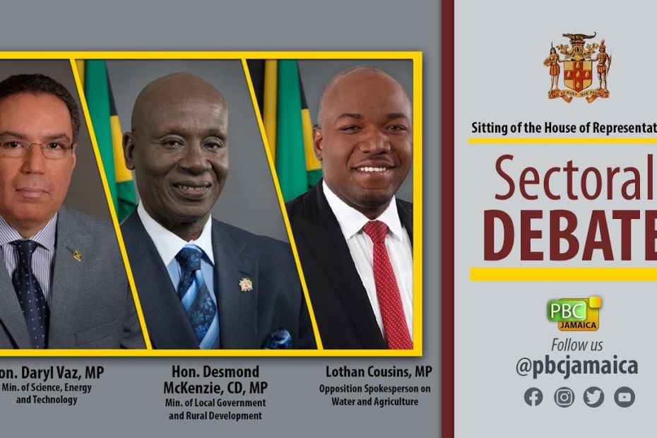 Sitting of the House of Representatives || Sectoral Debate – May 18, 2021